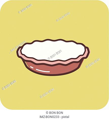 Illustration of a pie