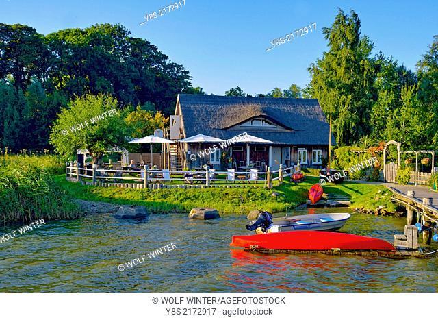 Natural Port of Krummin, Usedom, Germany