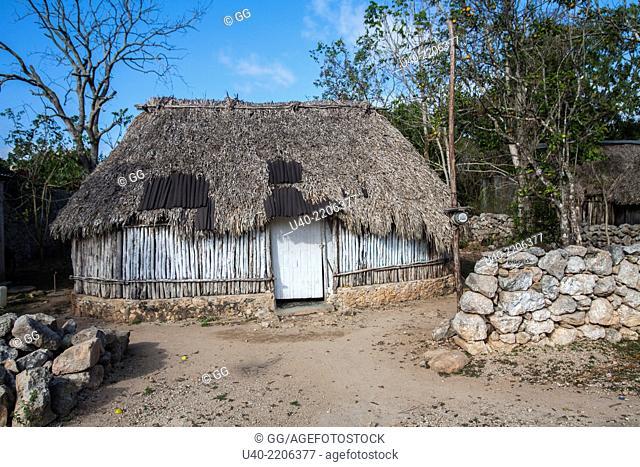 Palapa, Ek Balam, Mexico