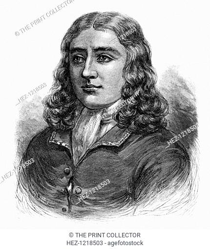 William Dampier, English buccaneer, sea captain, author and scientific observer, (1886). Dampier (1652-1715) mapped the coasts of New Guinea and Western...