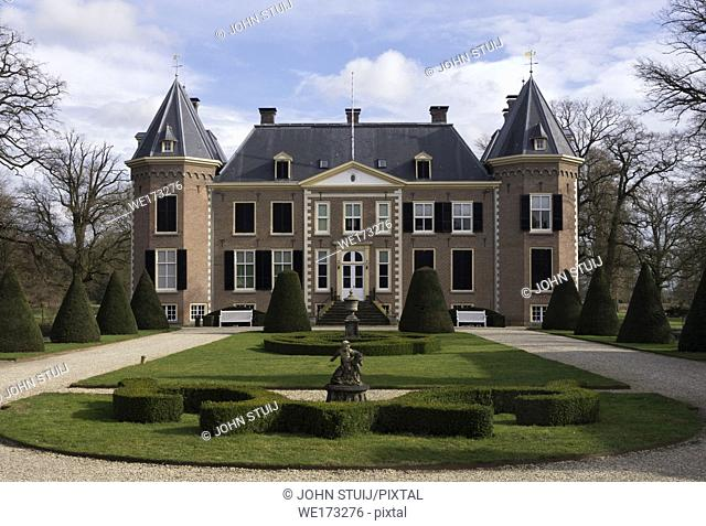 Nijenhuis castle near Diepenheim in the Dutch province Overijssel