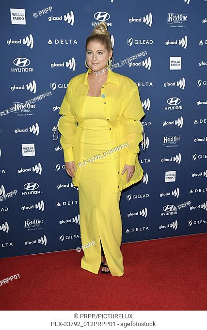 Meghan Trainor at the 30th Annual GLAAD Media Awards held at the Beverly Hilton Hotel in Beverly Hills, CA on Thursday, March 28, 2019