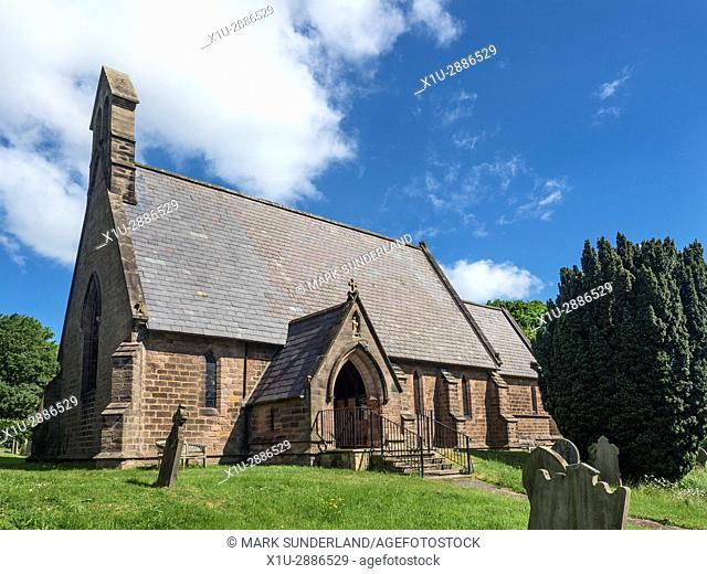 Saint Michael the Archangel Parish Church at Markington, North Yorkshire, England