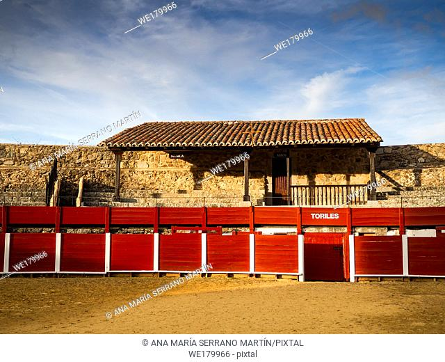 La Ancianita: Monument of the oldest bullring in the world in Bejar (Salamanca)