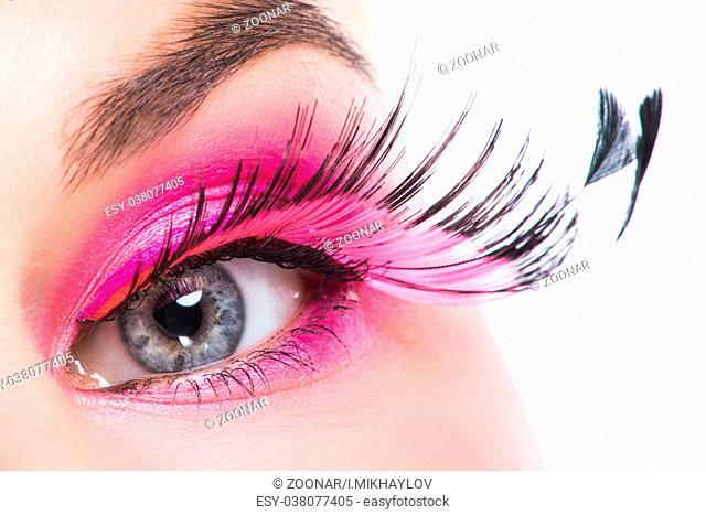 63bd9819897 Large fake eyelash Stock Photos and Images | age fotostock
