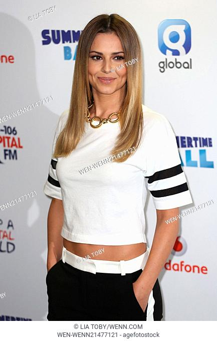 Capital FM Summertime Ball 2014 held at Wembley Arena - Arrivals Featuring: Cheryl Cole Where: London, United Kingdom When: 21 Jun 2014 Credit: Lia Toby/WENN