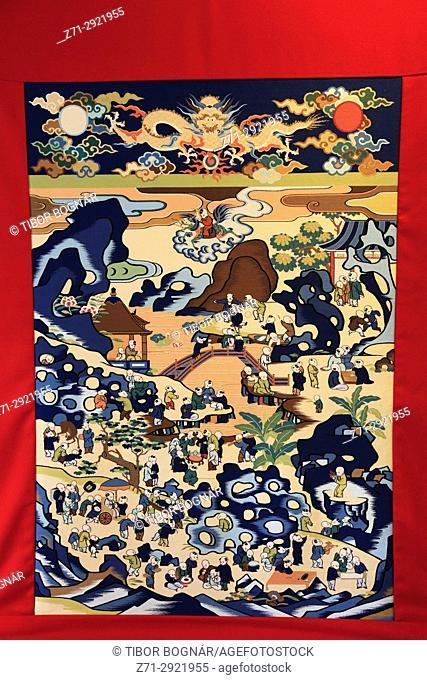 Japan, Kyoto, Gion Matsuri, festival, float, decoration,