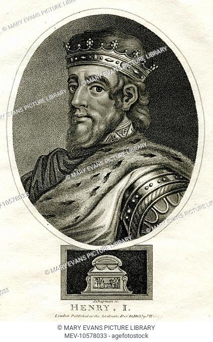 King Henry I (1068 - 1135), King of England (reigned 1100-1135)