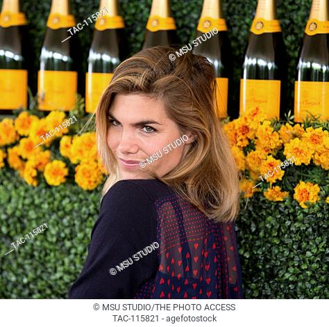 Delfina Blaquier attends the Sixth-Annual Veuve Clicquot Polo Classic on October 17, 2015 at Will Rogers State Historic Park, Polo Field, in Pacific Palisades