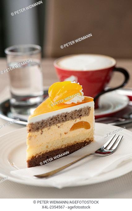 Torte with coffee, Austria