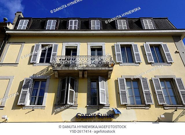 Architecture, Carouge - municipality in the Canton of Geneva, Switzerland, Europe