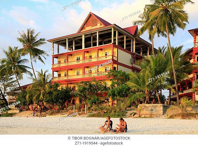 Malaysia, Kedah, Langkawi Island, Cenang Beach
