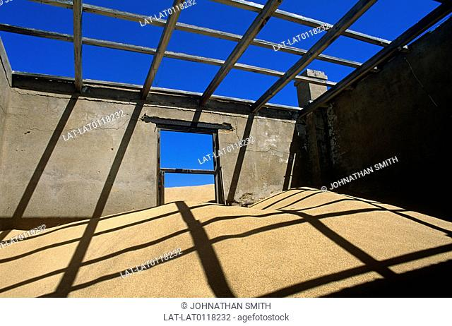 Kolmanskop is the former mining ghost town in the Namibian desert just outside Luderitz. The Mine Manager's House is a large historic building which is now...