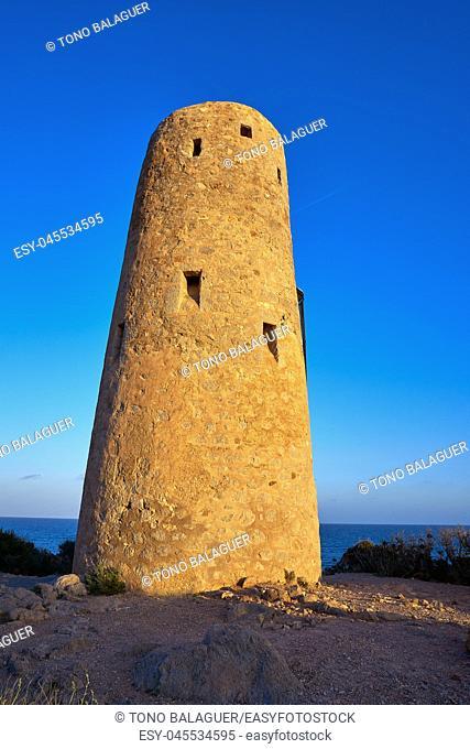 Oropesa de Mar Torre la Corda tower in Castellon Spain