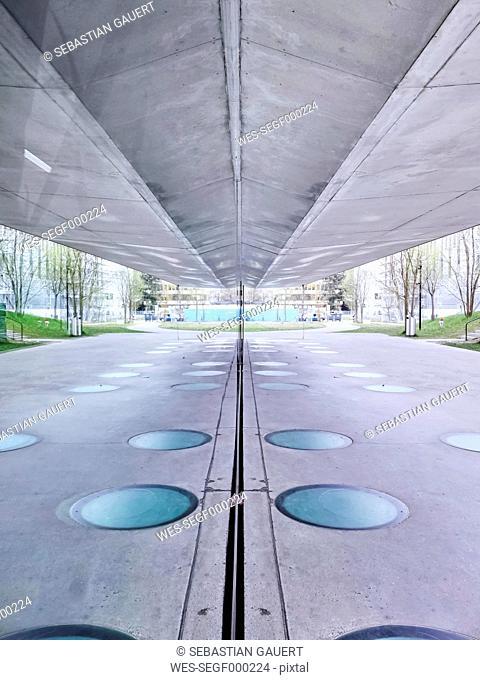 Switzerland, Zurich, underpass