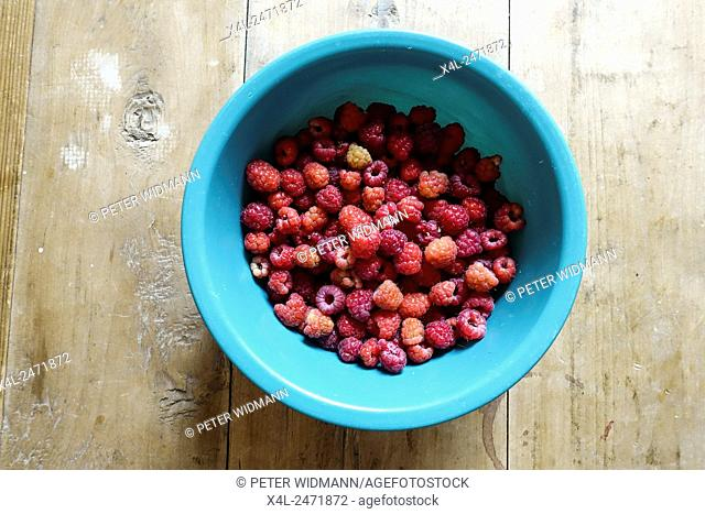Raspberries, Austria