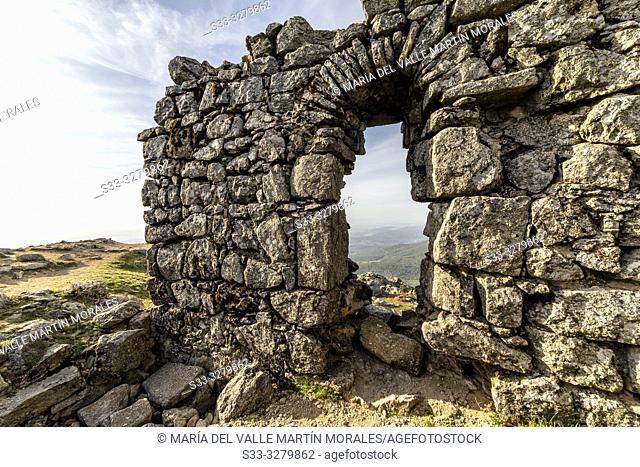 Ruins of St. Vicente castle. Toledo. Spain. Europe