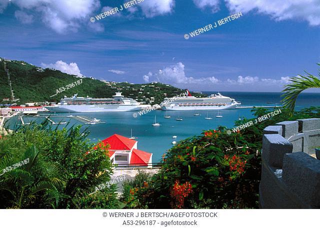 Havensight. Saint Thomas. US Virgin Islands. West Indies. Caribbean