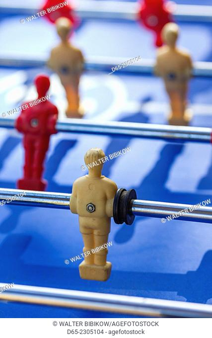 Australia, Victoria, VIC, Melbourne, Fitzroy, Gertrude Street, foosball table game
