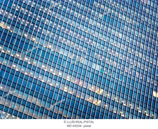 Office building, Canary Wharf, City of London