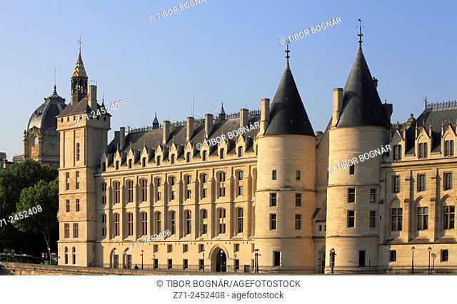 France, Paris, Ile de la Cité, Conciergerie
