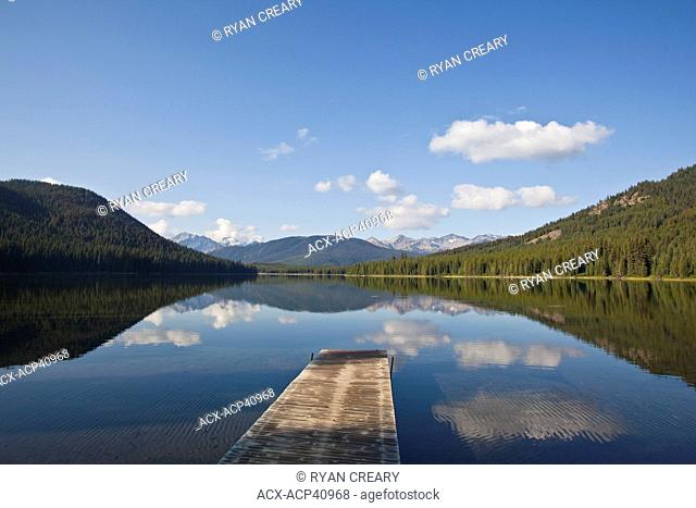 Spruce Lake Protected Area, Southern Chilcotins, British Columbia, Canada