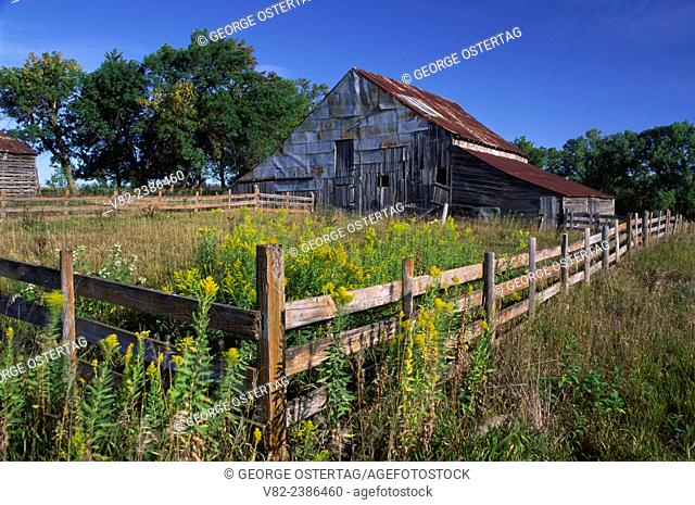 Barn, Gage County, Nebraska