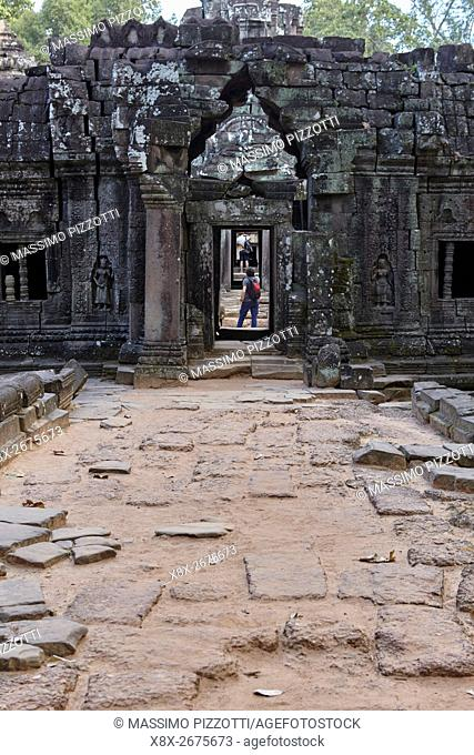Entrance to Ta Som temple, Siem Reap, Cambodia