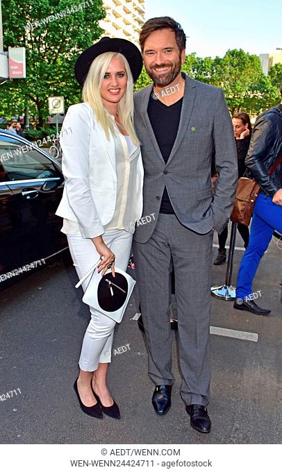 Opening party Julia Stoschek Collection (JSC) at Leipziger Strasse Featuring: Sarah Knappik, Ingo Nommsen Where: Berlin, Germany When: 01 Jun 2016 Credit:...