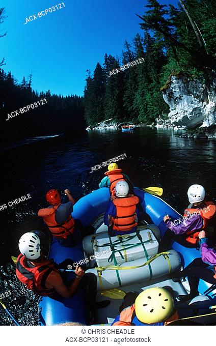 Nimpkish River Rafting- Destiny River outfitters, Vancouver Island, British Columbia, Canada