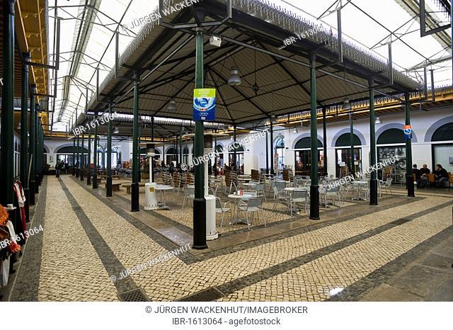 Antique market hall, Tavira, Algarve, Portugal, Europe