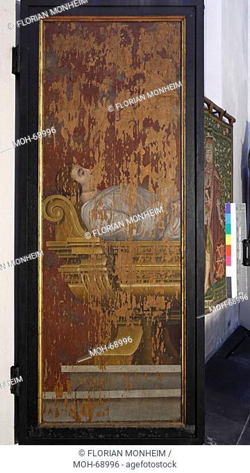 Fürstengruft, Tafel vom Grabmal für Herzog Johann III., Rückseite