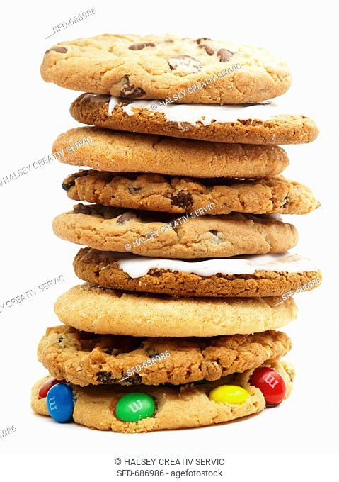 Assorted Stacked Cookies