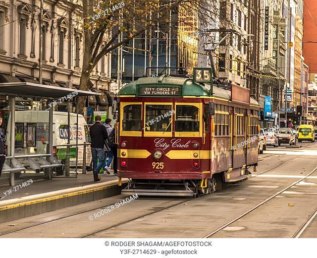 City Circle line tram, Melbourne