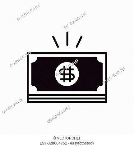 financial money symbol icon