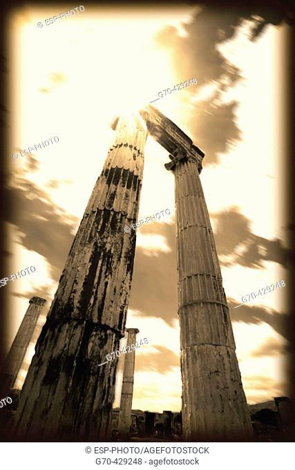 Ruins of ancient Aphrodisias. Turkey
