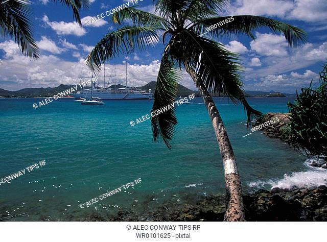 Caribbean, Santa Lucia, Rodney Bay
