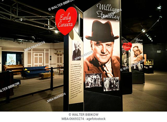 USA, New York, Western New York, Jamestown, Lucy-Desi Museum, dedicated to comedy star Lucille Ball of the 1950s-era TV show, I Love Lucy