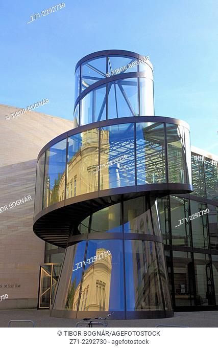 Germany, Berlin, German History Museum, I.M. Pei Building