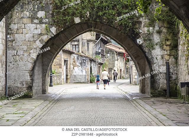 Cartes is a medieval village in Cantabria Spain
