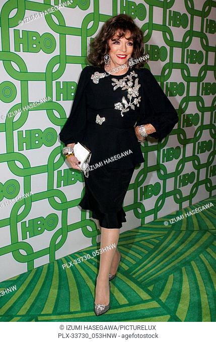 Joan Collins 01/06/2019 The 76th Annual Golden Globe Awards HBO After Party held at the Circa 55 Restaurant at The Beverly Hilton in Beverly Hills