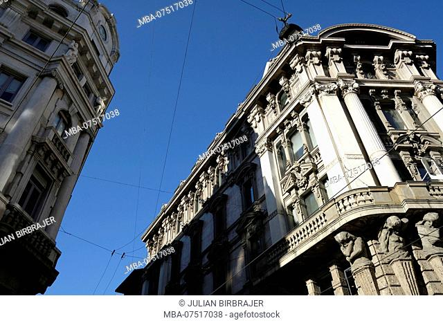 Buildings, Europe, Italy, Milan