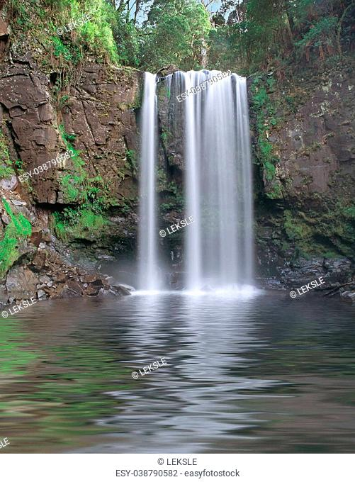 Waterfall in the Otway area of Victoria Australia