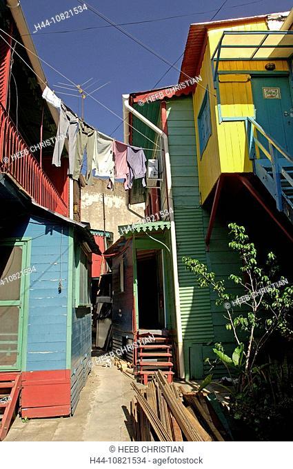 Colorful, Houses, El Caminito, La Boca, Buenos Aires, Argentina, South America