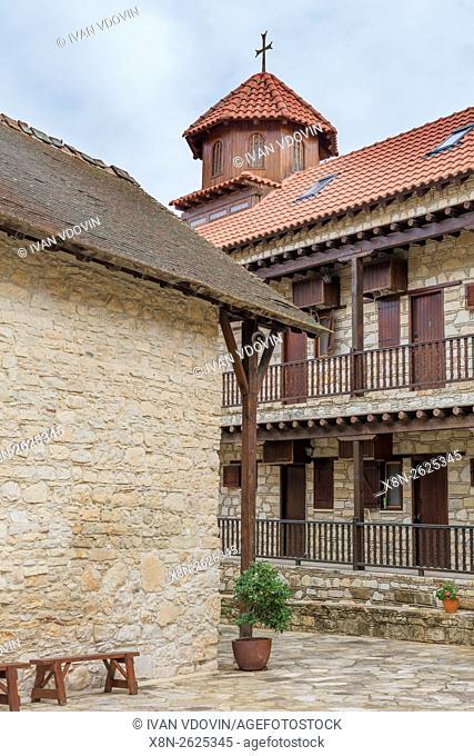 Panagia tis Amasgou monastery church, Monagri village, Cyprus