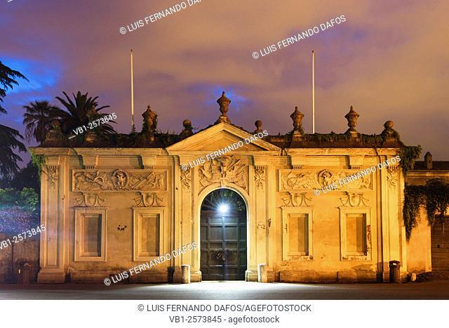 Villa del Priorato di Malta. Piazza dei Cavalieri di Malta. Rome Italy