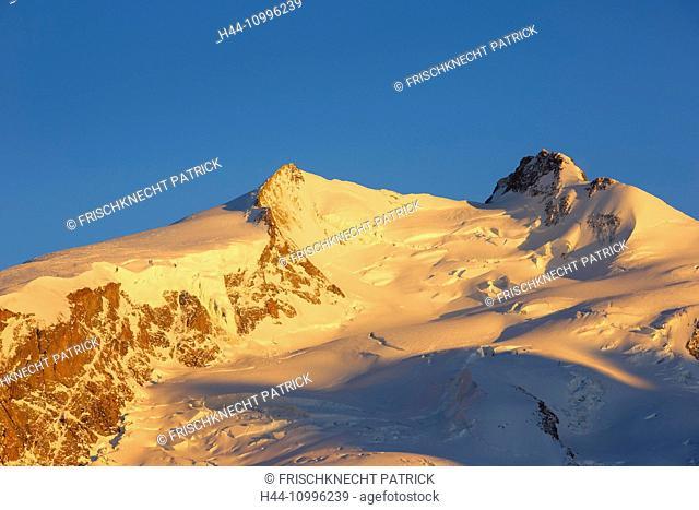 Monte Rosa - 4633 ms, Dufourspitze - 4634 ms, Valais, Switzerland
