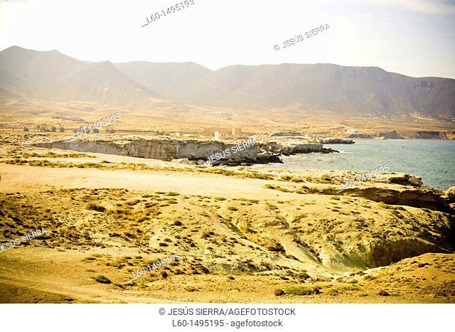 Los Escullos in Cabo de Gata Almeria Spain