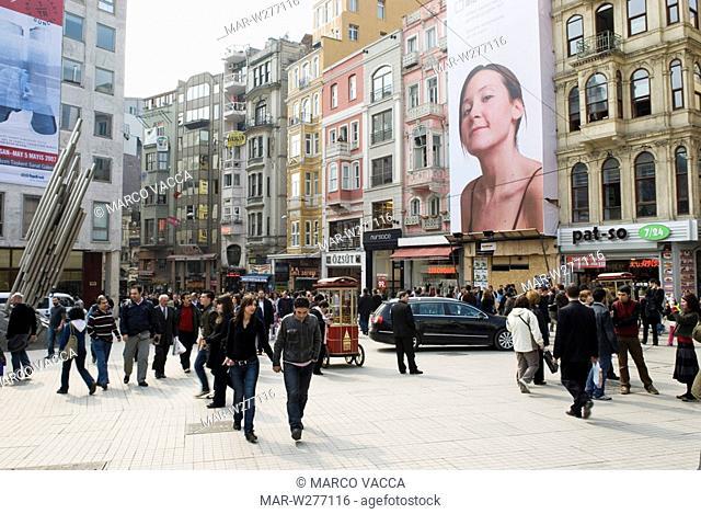 europe, turkey, istanbul, istiklal caddesi