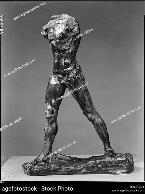 The Walking Man (L'homme qui marche). Artist: Auguste Rodin (French, Paris 1840-1917 Meudon); Founder: Cast by Alexis Rudier (French); Date: model completed...